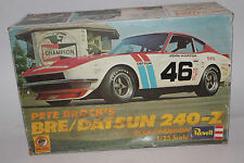 Revell Pete Brock's 1972 BRE/Datsun 240-Z, 1:25 SCALE, with Box