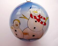 Hand Crafted Personalised Baby Christmas/Mr&Mrs Wedding Tree Bauble Decoration K