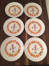 Glitterville HAPPY BIRTHDAY Go Bananas Monkey Plates Melamine Set of 6 New