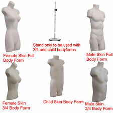 ❤A1 Female Male Child Kids Hanging Body Form Mannequin Torso Bust Retail Display