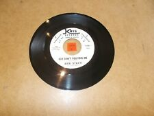 ANN STACY / ELLIOTT SHAVERS - BOY DON'T YOU FOOL ME  - LISTEN - JAZZ R&B POPCORN