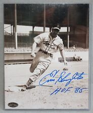 Enos Slaughter St Louis Cardinals Signed Photo w/ COA
