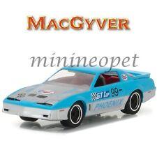 GREENLIGHT 44770 D MACGYVER 1987 PONTIAC FIREBIRD 1/64 DIECAST CAR BLUE