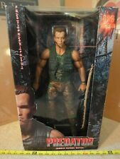Rare! 1/4 Predator Alien Movie Action Figure, Dutch Jungle Patrol, Arnold Doll.
