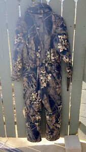 Cabellas hunting coveralls bibs Large