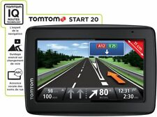 GPS TOMTOM START 20 NAVIGATION AUTOMOBILE CARTES FRANCE EUROPE + ALERTES RADARS