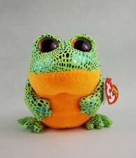 "6"" TY Beanie Boos Glitter Eyes New Speckles Frog Animal Plush Stuffed Toys"