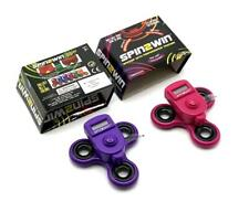 Spin2Win Dual Purple / Pink Fidget Spinner With Performance Tracker (100 Avail)