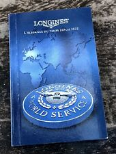 LONGINES 2000 Worldwide Service Booklet Conquest Master Evidenza Heritage
