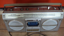 *SHARP GF 6464*Stereo Radio*Kasettenrecorder*Tape Recorder*mit Kabel*