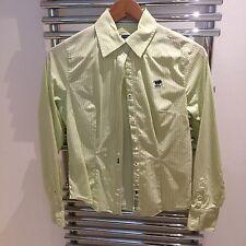 Polo Sylt Bluse, grün/weiß gestreift S, wie neu
