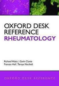 Oxford Desk Reference: Rheumatology (Oxford Desk Reference Series) by