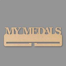 My Medals Medal Holder - 4mm MDF Wooden Craft Blank
