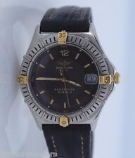 Lady Breitling Perpetuel Sirius 18K Yellow Gold Stainless Steel Watch
