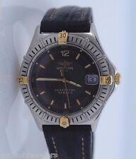 Mujer Breitling Perpetuel SIRIUS 18ct Oro Amarillo Reloj Acero Inoxidable