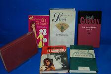 Lote 6 libros especial novelas romanticas-Variados-buen estado