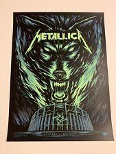 Metallica Bucharest Romania Poster August 14th 2019 Artist Signed Glow /70 Mark5