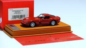 1/43 BBR / Deluxe CDL42 Ferrari 250 GTO Rosso Barchetta S/N 4757 GT 1963 #01/40