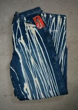 VTG Men's ROCKSTAR ORIGINAL Clothing Jeans  Acid Washed Ripped NWT 34 X 34