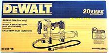 New Dewalt DCGG571B 20V Cordless Battery Grease Gun 20 Volt Max In Box Li-Ion