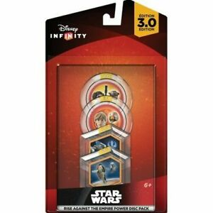 DISNEY INFINITY 3.0 Rise Against the Empire Star Wars Power Disc Set Lot 10 Pack