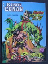 King CONAN  L'Antre de la Mort ARTIMA COLOR GÉANT 1984 .tbe