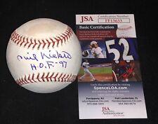Phil Niekro Autographed Baseball JSA HOF Inscription BRAVES