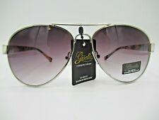 Giselle Women Fashion Aviator Sunglasses Floral Pattern Arms Giselle Design Logo