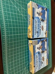 2019-20 UPPER DECK CREDENTIALS HOCKEY FACTORY SEALED HOBBY BOX Lot Of 2 Boxes B
