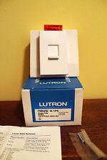 Lutron N-1PS Nova Single Pole Switch White New Linear Slide 120V 277V