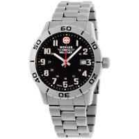 Wenger Swiss Military Grenadier Quartz Black Dial Men's Watch 79246
