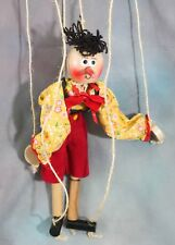 Pinocchio Richard Emonds Puppet Marionette Wood Jouets de Bois with Sticker