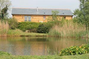 North Devon Luxury Lodge HALF PRICE XMAS HOLIDAY free fishing 21st-28th December