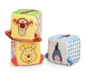 DISNEY Winnie the Pooh and Pals Soft Blocks  **NEW**