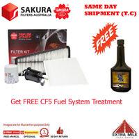 Sakura 4WD Filter Kit For TOYOTA LANDCRUISER PRADO GRJ120R 1GR-FE 4L 03/03-11/09