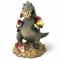 "The Great Garden Gnome Massacre Dinosaur Big Mouth Toys 9"" Novelty Gift Ornament"