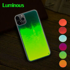 Luminous Dynamic Glow Neon Sand Hybrid Case Cover For iPhone 11 Pro Max XR 8 7 6