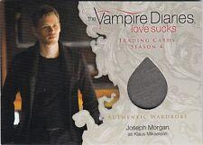 THE VAMPIRE DIARIES SEASON 4 - M06 KLAUS MIKAELSON (JOSEPH MORGAN) WARDROBE CARD