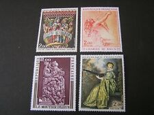 FRANCE, SCOTT # 1359-1362(4), COMPLETE SET 1973 ART SERIES ISSUE MNH