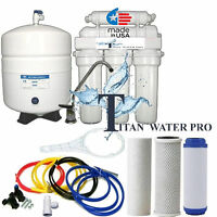 Reverse Osmosis Water FIltration 6 Stage System - pH alkaline enhancer - 75 GPD