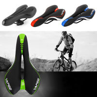 Saddle Bicycle Soft Seat Fit MTB Road Bike Mountain Racing Comfort Breathable