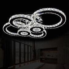 XL Deckenlampe LED Deckenleuchte Kristall Wohnzimmer Lampe Kalt Warm Farbwechsel