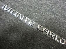 OEM GM # 10340236 Chevy Monte Carlo Trunk Rear Emblem Name Plate Badge Sign