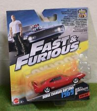 MATTEL 1:55th SCALE DIE-CAST FAST & FURIOUS 29/32 DODGE CHARGER DAYTONA 1969