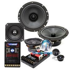 "CL-6E42 CDT AUDIO 3-WAY CAR COMPONENT SPEAKERS 6.5"" MIDBASS 4"" MIDRANGE 1"" TWEET"