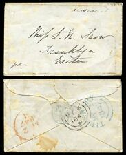 IRELAND 1847 MINIATURE ENVELOPE REGISTERED JULY 3rd EMBOSSED FLAP TIPPERARY