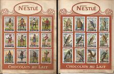 CIOCCOLATO _ NESTLE - CHOCOLATS AU LAIT _ FIGURINE _ soldat Suisse - Oiseaux