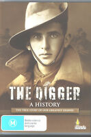 DVD The Digger - A History The True Story of our Greatest Legend DVD WW1 WW2 war