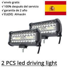 """7"""" 120W LED barra de luz, Luces de trabajo Faros antiniebla Offroad Tractor 4x4"""
