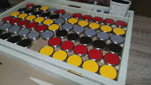 35-52mm Checkers for Backgammon with any height required